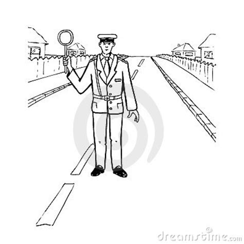 11589 policeman clipart black and white officer royalty free stock photo image 22802625