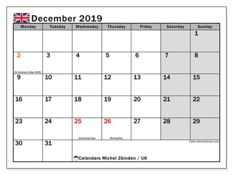 december  calendar uk michel zbinden en