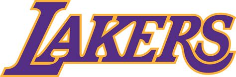 Los Angeles Lakers Wordmark Logo - National Basketball ...