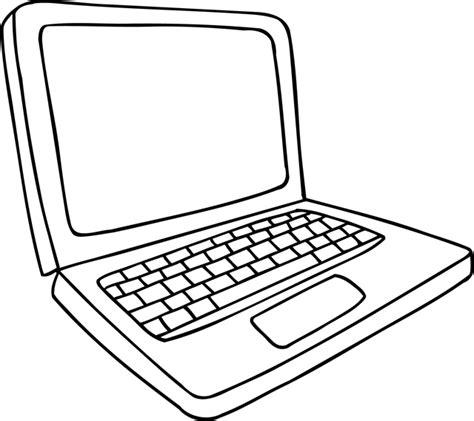 ordianteur de bureau coloriage à imprimer un ordinateur dory fr coloriages