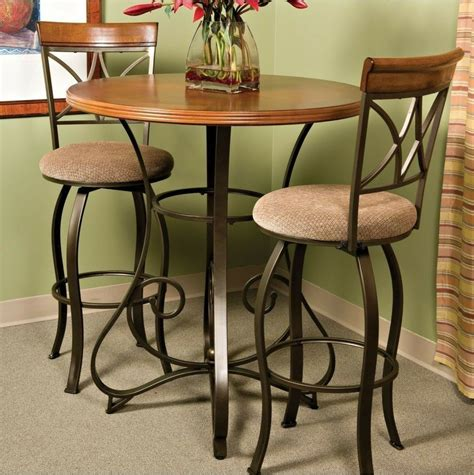 Pub Furniture by Pub Table Bar Counter Height Cherry Wood Bronze Metal