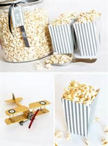 Free Printable Popcorn Boxes