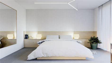 Diseño De Interiores Dormitorios Modernos En Blanco Con Acentos
