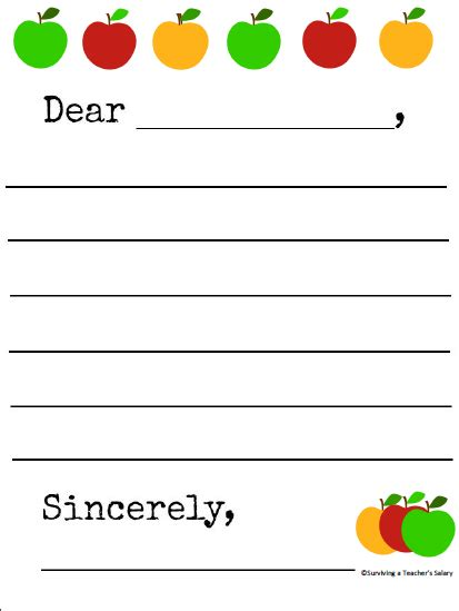 Apple Pages Templates Madinbelgrade Printable Letter Writing Template April Onthemarch Co