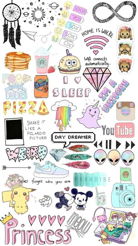 Tumblr stickers wallpaper by laurachristine42 - a9 - Free ...