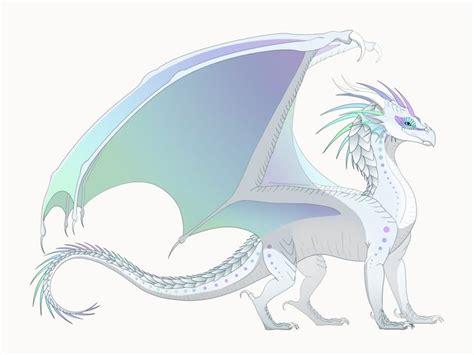 oc  wing  fire dragon  aurora female tribe rainwingicewing hybrid  father
