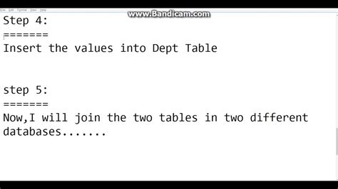 join two tables in r joining two tables two different databases youtube