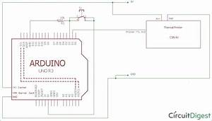 Thermal Printer Interfacing With Arduino Uno