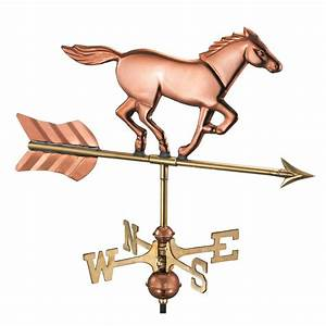 Good Directions Patchen Horse Weathervane with Arrow in ...