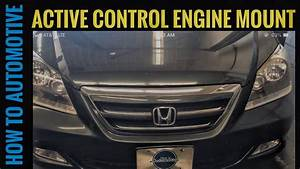 How To Replace The Front Active Control Engine Mount On A