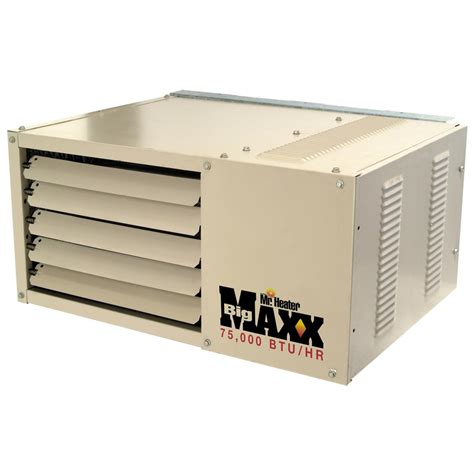 gas garage heaters mr heater 174 garage shop series 75 000 btu gas