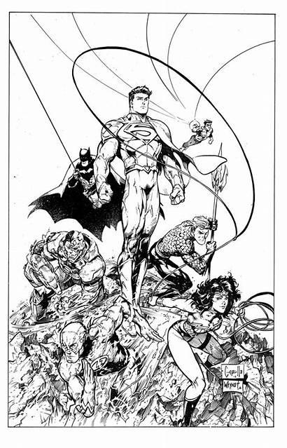 Justice League Coloring Unlimited Sheets Deviantart Dc