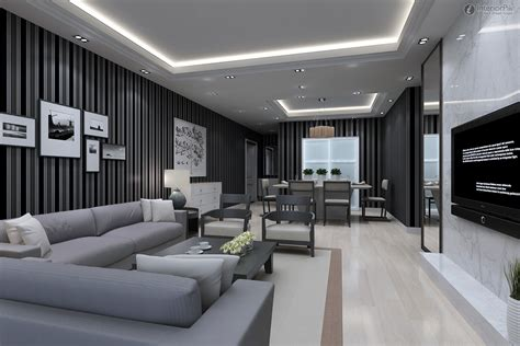 Stunning Modern Living Room Decor Ideas 19 Delightful 1940s Homes Exterior Design Home Depot Shutters Log Stain Lockable Medicine Cabinet Custom Doors Cinema Cabinets Best Black And White Dining Room Ideas