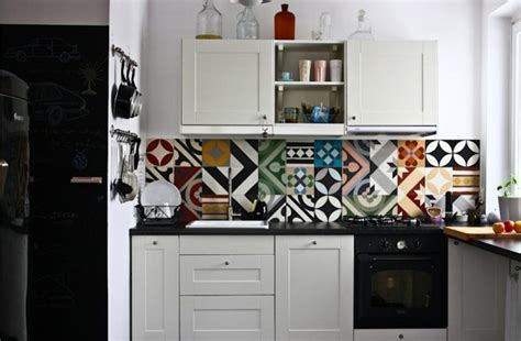 easy to install kitchen backsplash carreaux de ciment 36 id 233 es d 233 co avec leurs motifs 8853