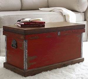 josefa trunk distressed red traditional decorative With red distressed coffee table