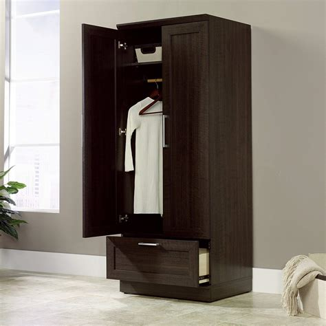 Standing Wardrobe by Free Standing Wooden Wardrobe Closets Giftworm