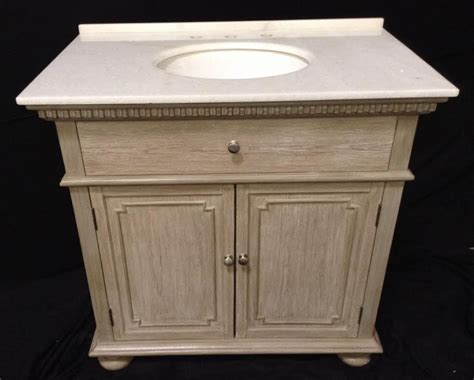 single sink bathroom vanity  distressed light