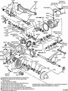 Ford F 350 4x4 Front Axle Diagram
