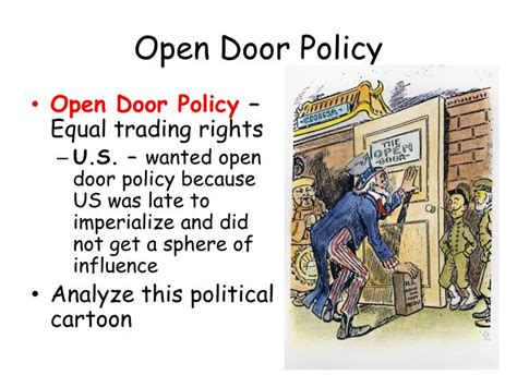 open door trading ppt imperialism in china and japan powerpoint