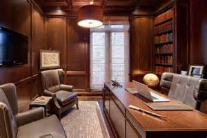 wall interior designs for home wood paneling adds elegance and warmth to your home office