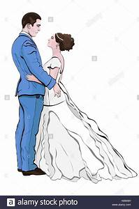 Dessin Couple Mariage Noir Et Blanc : jeunes mari s cartoon vector dessin la main couple in ~ Melissatoandfro.com Idées de Décoration