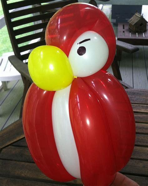 angry bird balloon balloon animals flying sky air