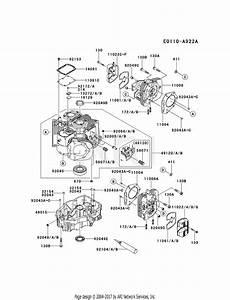 Kawasaki Fx850v Crankcase