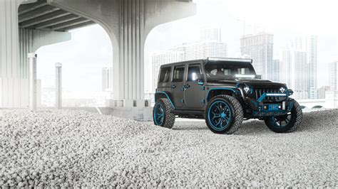 wallpaper jeep custom  automotive cars