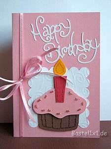 Geburtstagskarten Basteln Ideen : geburtstagskarte muffin ~ Watch28wear.com Haus und Dekorationen