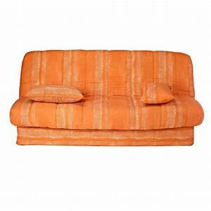 Housse Clic Clac Blanche : housse de fauteuil et canape blancheporte ~ Teatrodelosmanantiales.com Idées de Décoration