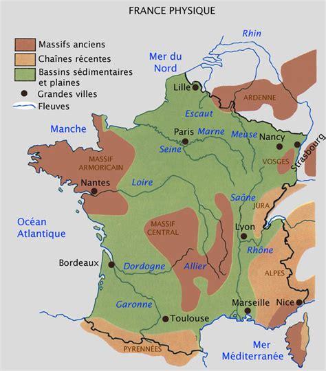 Carte Montagne Cycle 3 by Carte Relief 187 Carte Du Monde