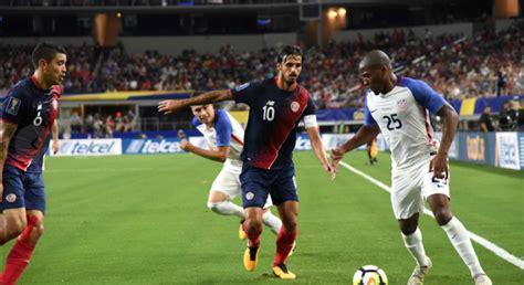 Costa Rica pierde 0-2 ante Estados Unidos en la Semifinal ...