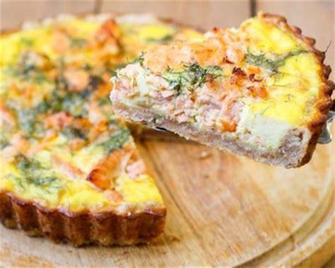 recette cuisine familiale recette quiche au saumon frais