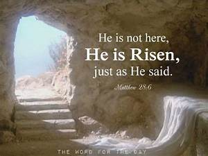 easter he is risen! christian quotes | Tumblr