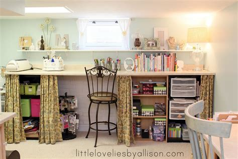 Craft Rooms : Craft Room Tour With Pitter And