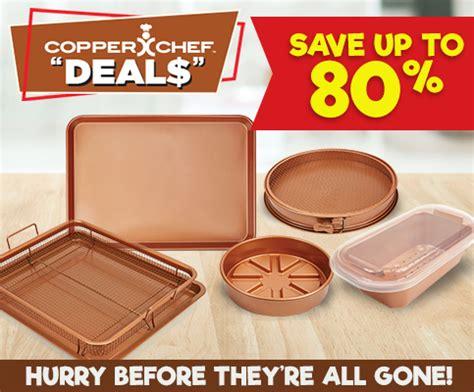copper chef pan deals    tv copperchefdealscom copper chef copper cookware