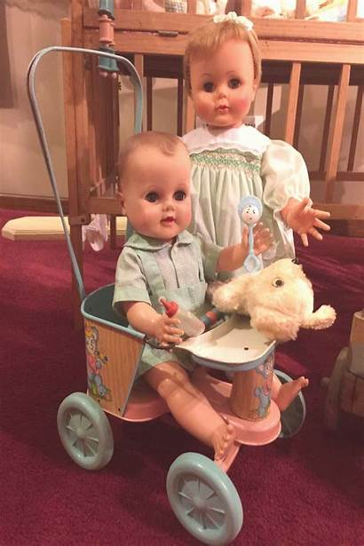 Doll Dolls Kissy Ideal Tin Unmarked Ohio