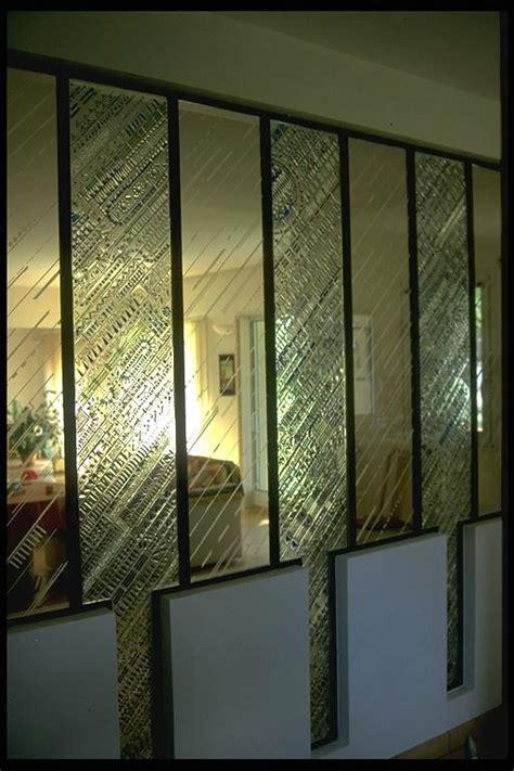 cloison verre cuisine great claustra en vitrail with cloison verre cuisine
