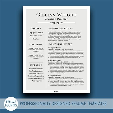 Are References Necessary On A Resume by Resume Template For Word 1 3 Page Resume Cover