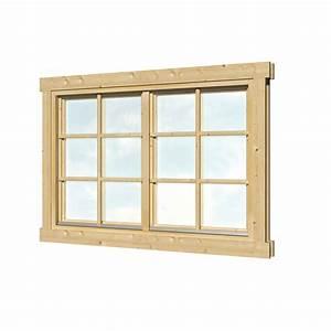 Fenster Einfachverglasung Gartenhaus : dubbel raam vuren hout 144 5 x 96 6 cm voor dubbel glas ~ Articles-book.com Haus und Dekorationen
