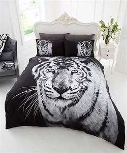 Housse De Couette 3d : 3d effect modern animal prints duvet cover with pillowcase ~ Dailycaller-alerts.com Idées de Décoration