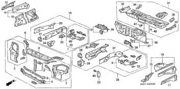04603 Teehood Discount Code by Structure Components For Honda Civic Eh1 1995 Year