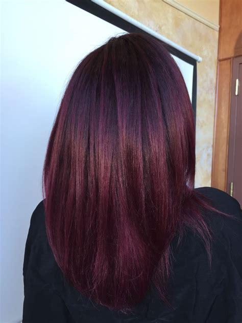 merlot hair color google search hair plum