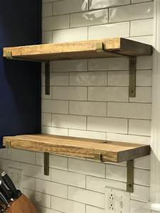 Brass, Shelf, Brackets, For, Wood, Shelves, U2013, Cascade, Iron, Co