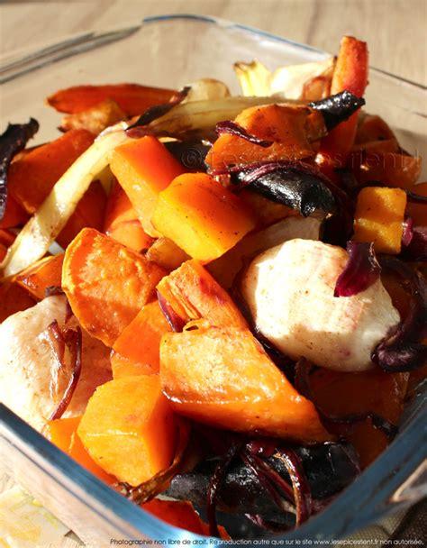 cuisiner la patate douce au four légumes d 39 automne confits au four au miel et épices les