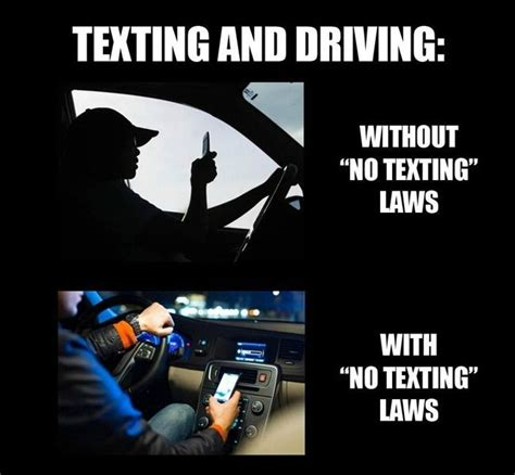 Texting While Driving Meme - 25 best ideas about texting and driving laws on pinterest texting and driving accidents
