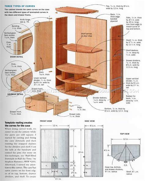 small wall cabinet plans woodarchivist