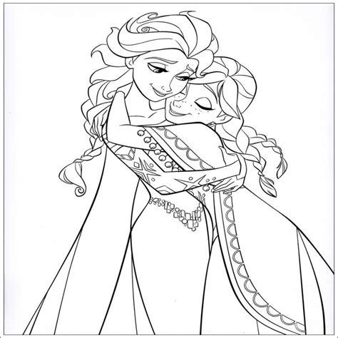 Herunterladen Elsa Und Anna Ausmalbilder Memketkcong