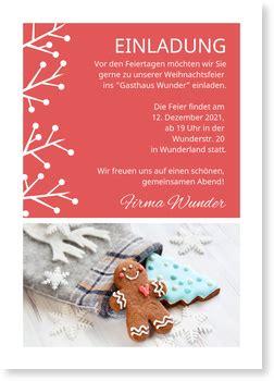 winterstrauch einladung weihnachtsfeier