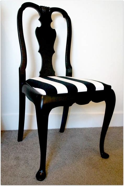 black and white striped chairs furniture